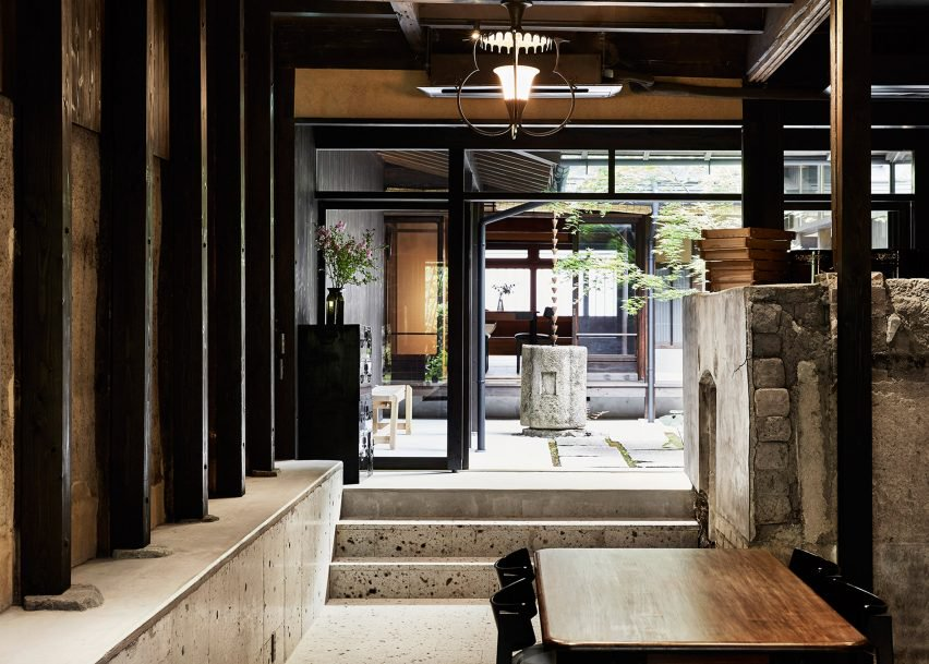 Machiya house for Japanse stijl interieur